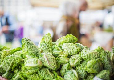 Veggies at Farmers Market