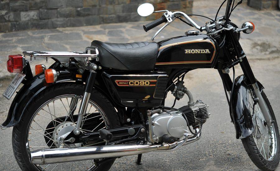 Siêu ngầu siêu chất với Honda Benly CD90