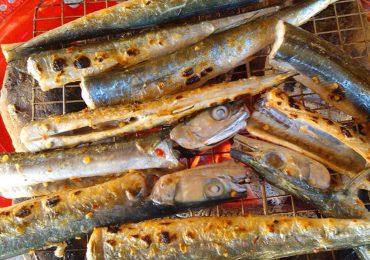 Đến Nam Du đừng quên món cá xương xanh đặc sản