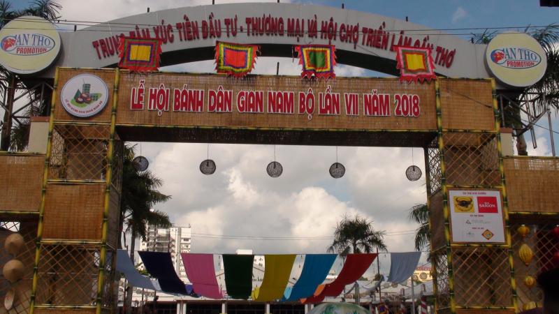 Đã mắt lễ hội Bánh dân gian Nam Bộ
