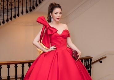 """Lý Nhã Kỳ lộng lẫy như nữ hoàng, Hà Kiều Anh """"quý bà"""" thảm đỏ"""