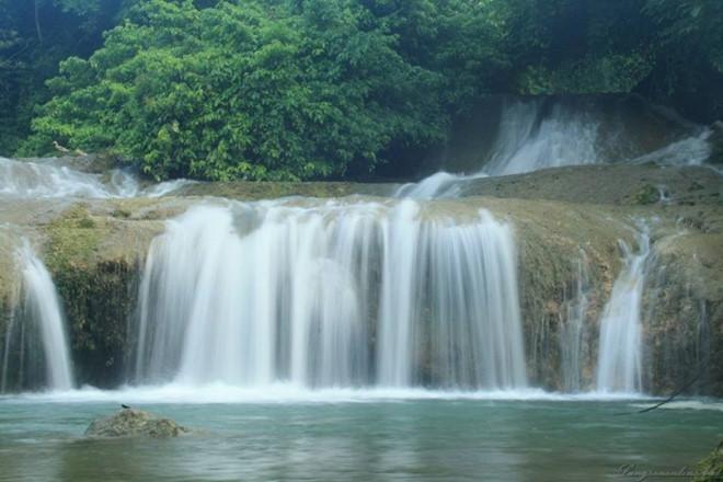 Hùng vĩ mà thơ mộng của thác Đăng Mò Lạng Sơn