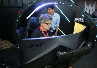 Chắc hẳn các gamer sẽ chạy đua nhau sắm chiếc máy chơi game Predator Thronos siêu đỉnh này!