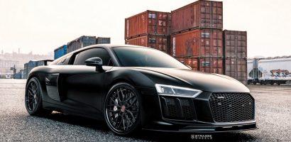Audi R8 V10 Plus siêu khủng còn độ chiến đấu cơ tàng hình?