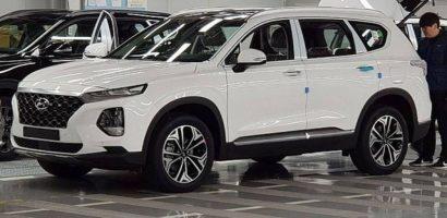 Sự xuất hiện đầy bất ngờ của Hyundai Santafe bản mui trần