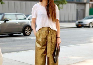 Cô nàng mũm mĩm nên chọn quần ống rộng thế nào cho đẹp?
