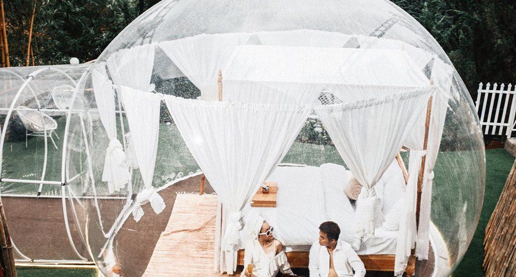Không cần đến Bali xa xôi, khách sạn bong bóng đã có tại Đà Lạt