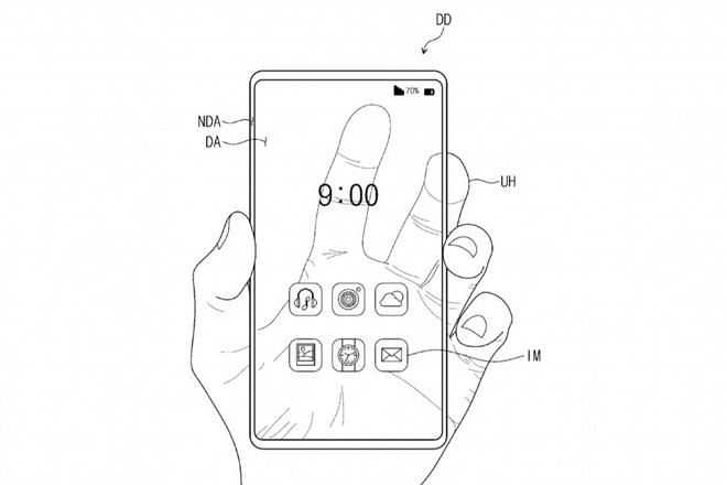 Samsung và ý tưởng smartphone trong suốt
