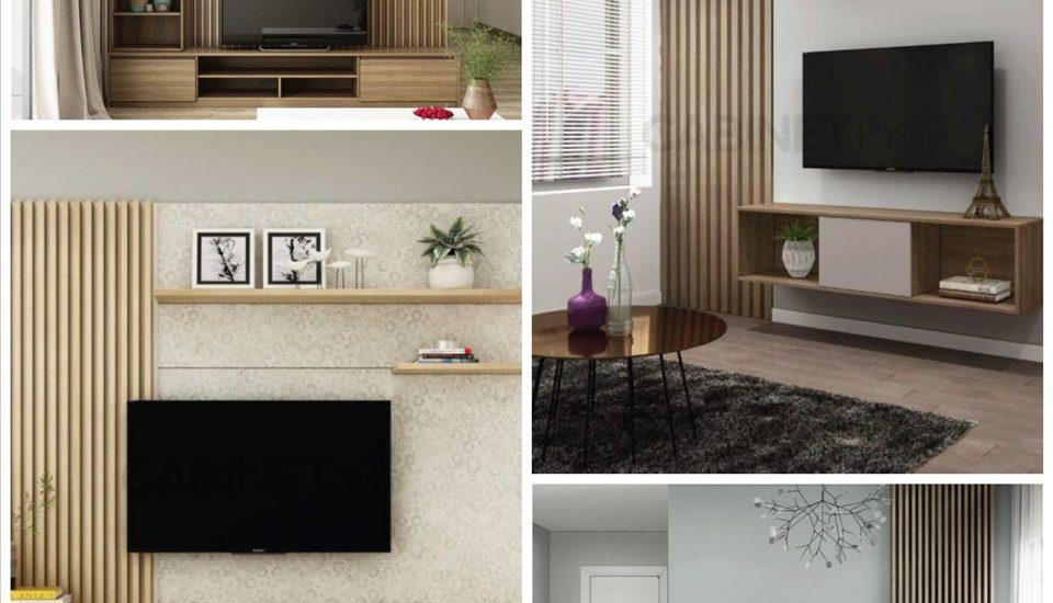 Biến tấu nội thất phòng khách với những thiết kế tủ kệ tivi hiện đại