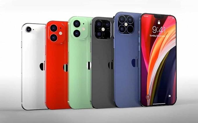 iPhone 12 sẽ ra mắt với 5 phiên bản vào ngày 13/10