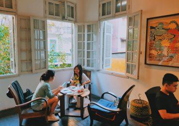 Tiệm coffee ở Hà Nội mang đậm nét xưa cũ