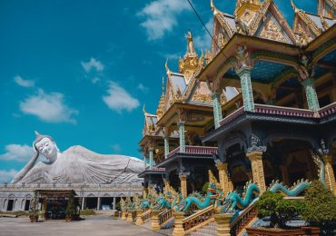 Những ngôi chùa Khmer hút khách dịp đầu năm