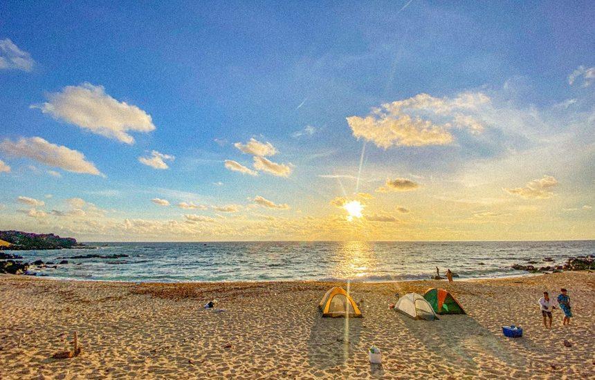 Kinh nghiệm cắm trại ở đảo Phú Quý
